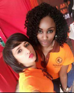 Michelle and Niyati