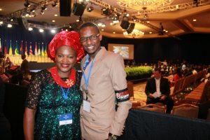At the Mandela Washington Fellowship Presidential Summit 2014
